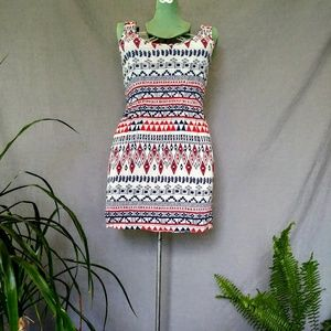 Forever 21 Short Tribal Patterned Dress